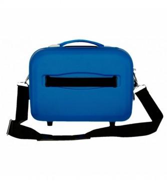 Movom Movom Riga ABS Borsa adattabile azzurro -29x21x15cm-