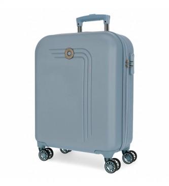 Movom Movom Riga valise rigide pour cabine 55cm bleu clair -40x55x20cm