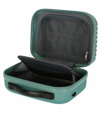 Roll Road ABS Roll Road India Adaptable Toilet Bag turquoise -29x21x15cm