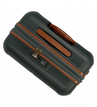 El Potro Ensemble de bagages El Potro Ocuri vert -40x55x20cm/49x70x28cm