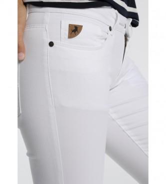 Lois Pantalones Coty blanco