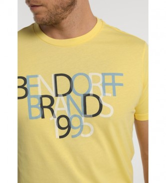 Bendorff T-Shirt à manches courtes 1995 jaune