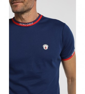 Bendorff Jacquard Elastics T-shirt azul