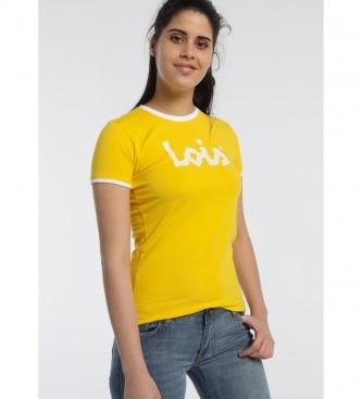 Lois Maglietta basic gialla indispensabile