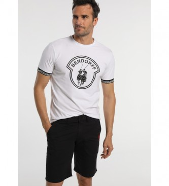 Bendorff T-shirt Logo Elasticos Jacquard branco