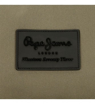 Pepe Jeans Piccola borsa a tracolla Pepe Jeans Denton Khaki -15x19,5x6cm