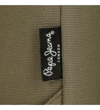 Movom Pepe Jeans Denton Khaki Cross Bandoleer -18x35x9cm
