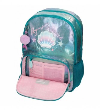 Enso Enso Be a Mermaid Double compartment backpack -32x44x17cm