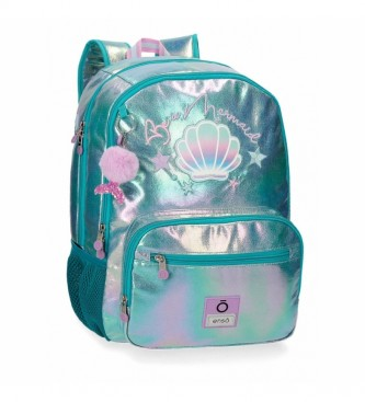 Enso Enso Be a Mermaid Backpack Double Adaptable Compartment -32x44x17cm