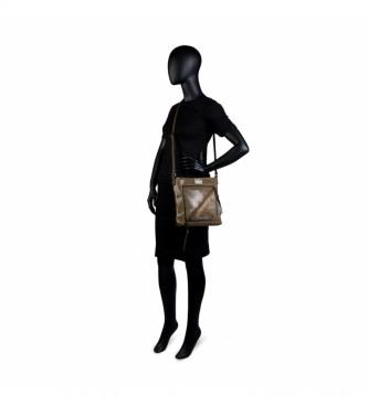 Bolso Bandolera De Mujer Con Cremallera Triple Compartimento Interior 302144