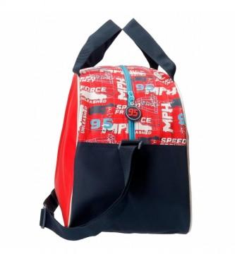 Joumma Bags Carros Speed Trails Travel Bag vermelho -40x28x22cm