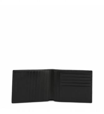 Piquadro Portafoglio PU1241S94R nero -12,5x9,5x1cm