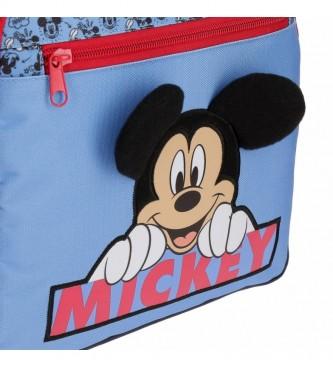 Joumma Bags Mickey Moods mochila azul -30x38x12cm