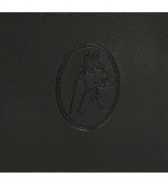 El Potro Mochila casual preta El Potro Chic -24x28x10cm