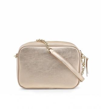 Furla Bolsa de couro ao ombro BZM1_FURLA-SWING ouro rosa -20,5x14x6,5cm
