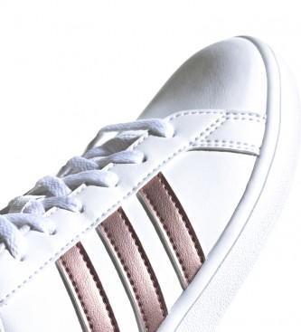 adidas grand court rosa cobre