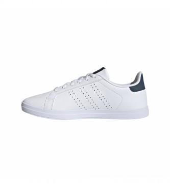 adidas Chaussures en cuir blanc Courtpoint Base