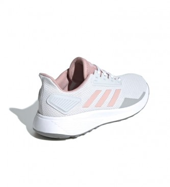 Zapatilla Duramo 9 Grey Six Cloud White Pink Spirit