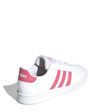 adidas grand court k rosa
