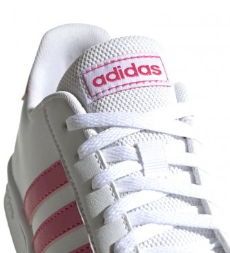 autentico store come comprare Comprar adidas Zapatillas Grand Court blanco, rosa - your online ...