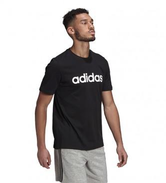 adidas Camiseta Man Essentials LIN SJ T negro