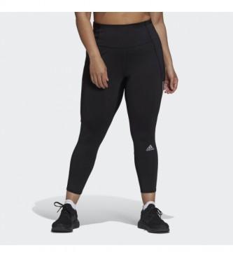 adidas Collant da corsa 7/8 Own The Run (taglia grossa) nero