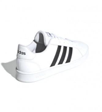 adidas Sapatos Grand Court branco, preto