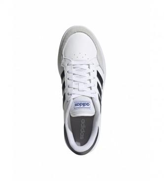 adidas Scarpe Breaknet bianche, blu navy