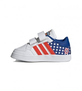adidas Sapatos Breaknet I branco, vermelho, azul