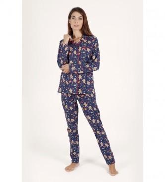 Admas Pyjama ouvert