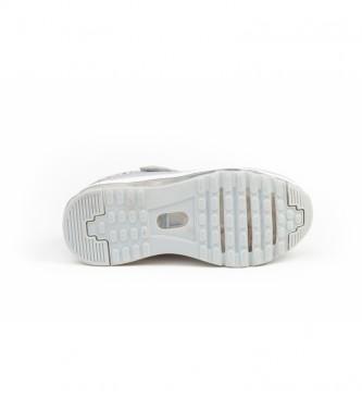 Angelitos Zapatillas Aventura & Luces gris, plateado