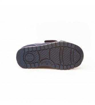 Angelitos Zapatillas de piel Nobuck marino