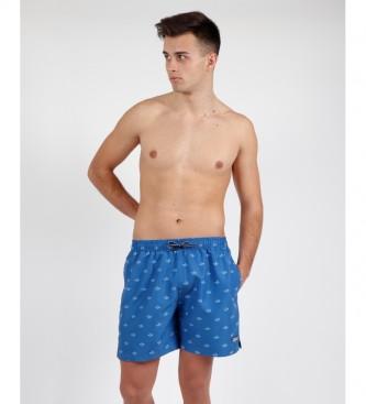 Antonio Miro Fato de banho azul marinheiro