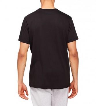 Asics T-shirt Grande Logotipo preto