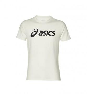 Asics T-shirt grande logótipo branco