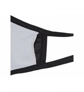 Asics Mascarilla Logo negro