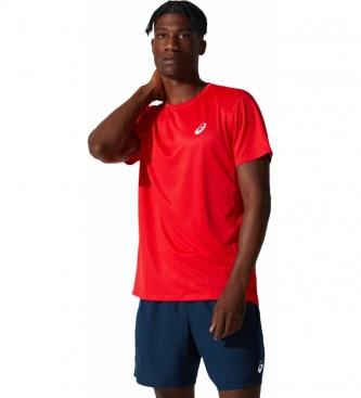 Asics T-shirt SS Core rouge