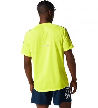 Asics Ícone Camiseta manga curta amarela