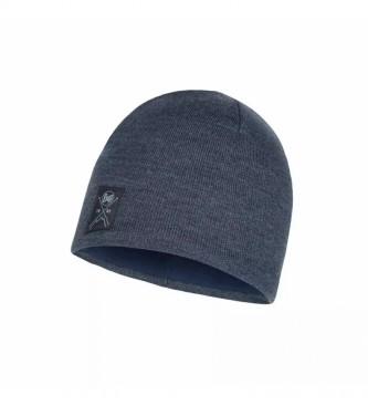 Buff Bonnet tricoté et polaire marine / 52g