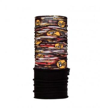 Buff Tubular multifuncional forro polar New Obsession negro, multicolor -UPF +50-