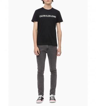 Calvin Klein Camiseta Core  Institutional Logo Slim negro
