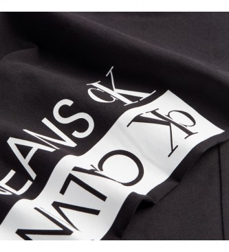 Calvin Klein Legging Mirrored Logo black
