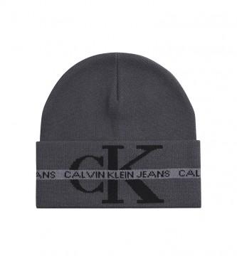 Calvin Klein Feijão de Algodão Orgânico K50K507181 cinza