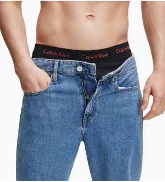 Calvin Klein Pacote de 3 Boxers de Tiro ao Tiro com Algodão Preto