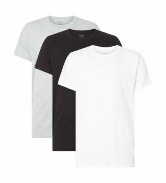 Calvin Klein Pack of 3 t-shirts Cotton Classics white, black, grey