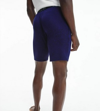 Calvin Klein Ultra Soft Modal Pyjama Shorts azul