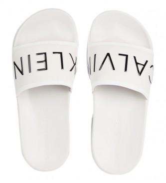 Calvin Klein Flip-flops logo branco