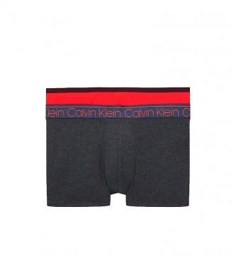 Calvin Klein Pacote de 3 Boxers Tronco azul, vermelho