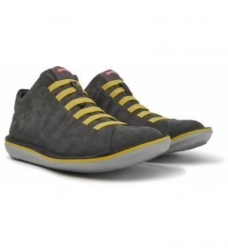 CAMPER Beetle grey leather sneakers
