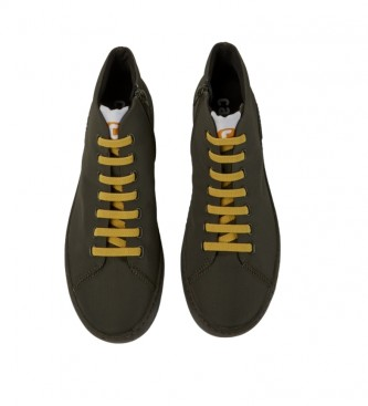 CAMPER Peu Touring military green ankle boots
